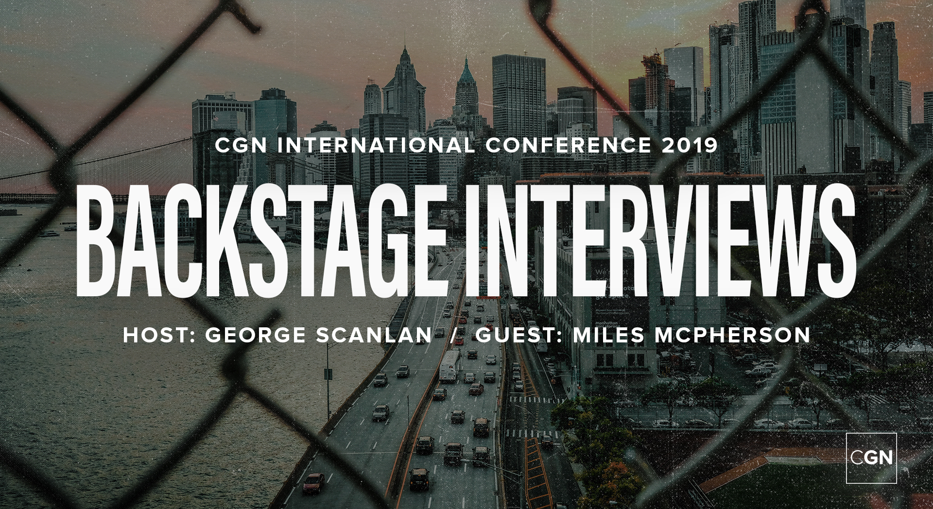 Backstage Interview - Miles McPherson