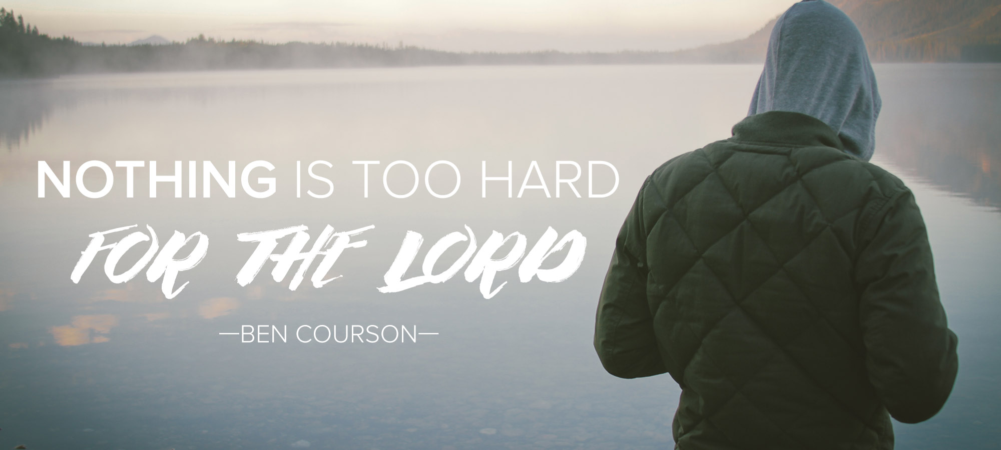 Nothing is Too Hard for the Lord