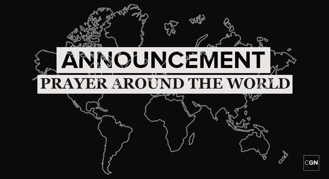 Prayer Around the World Announcement