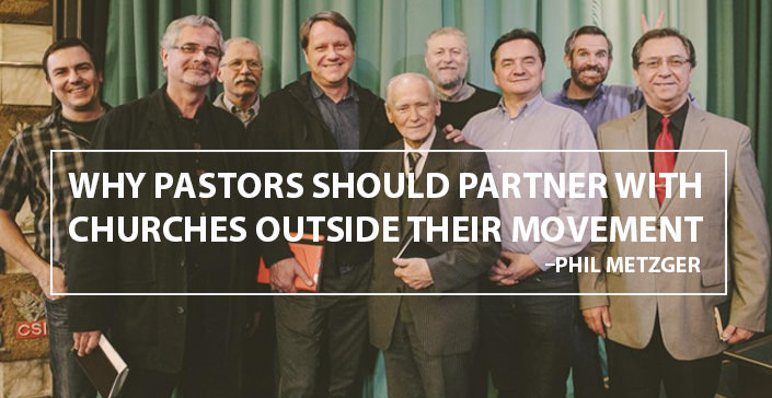 Why Pastors Should Partner with Churches Outside Their Movement