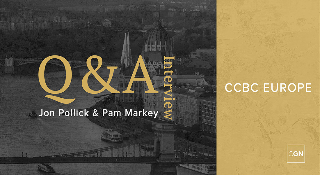 Q&A Interview with Jon Pollick and Pam Markey of CCBC Europe