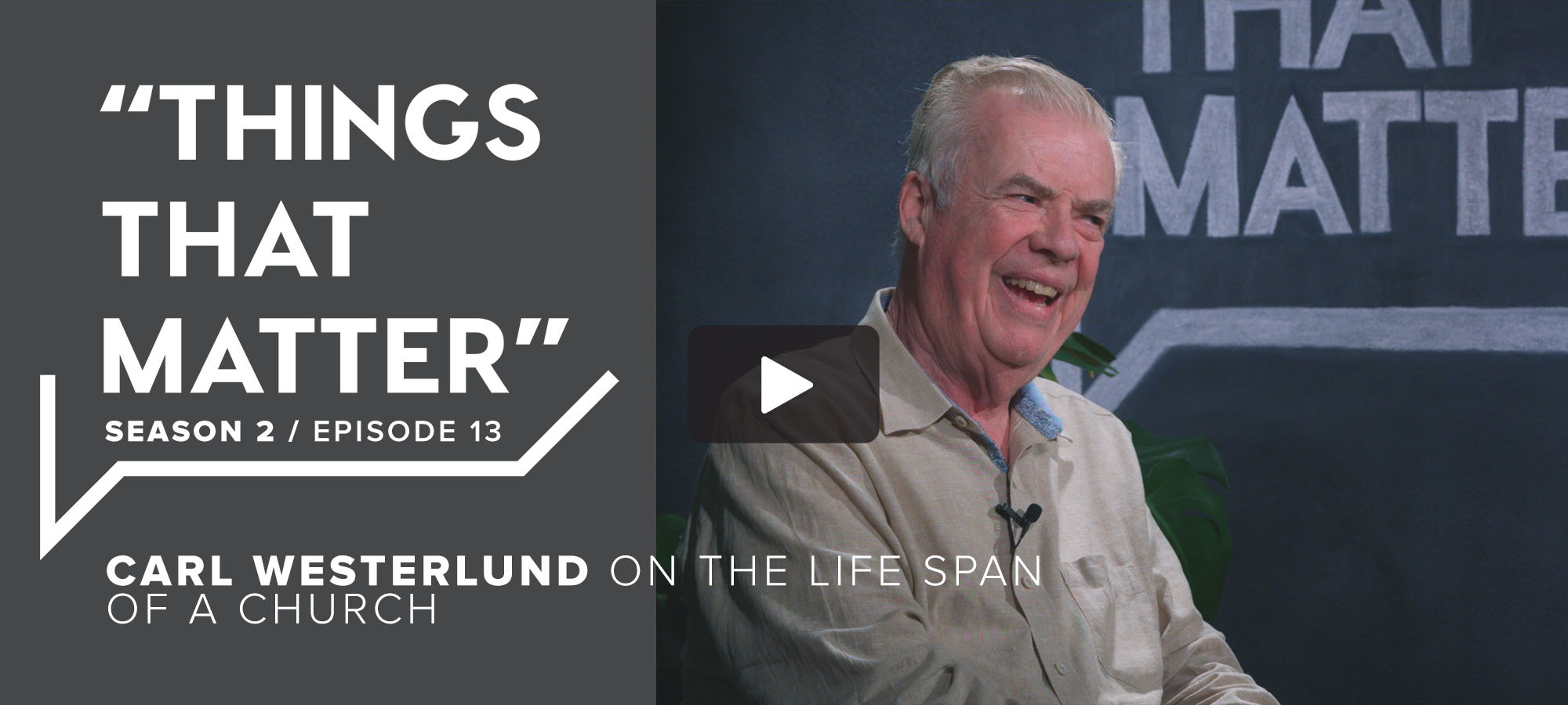 TTM S2 E13 - Carl Westerlund on the Life Span of a Church