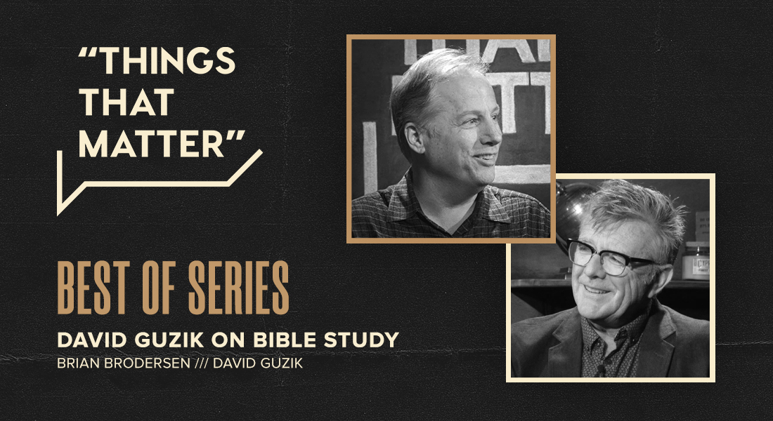 Best of Series: David Guzik on Bible Study,