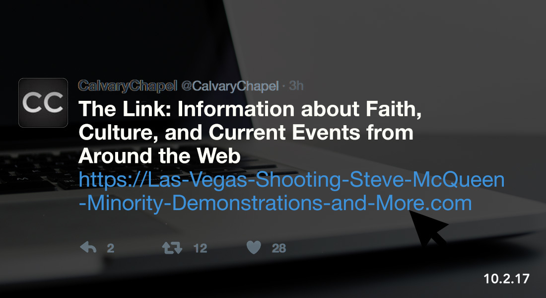 The Link: Las Vegas Shooting, Steve McQueen, Minority Demonstrations and More.