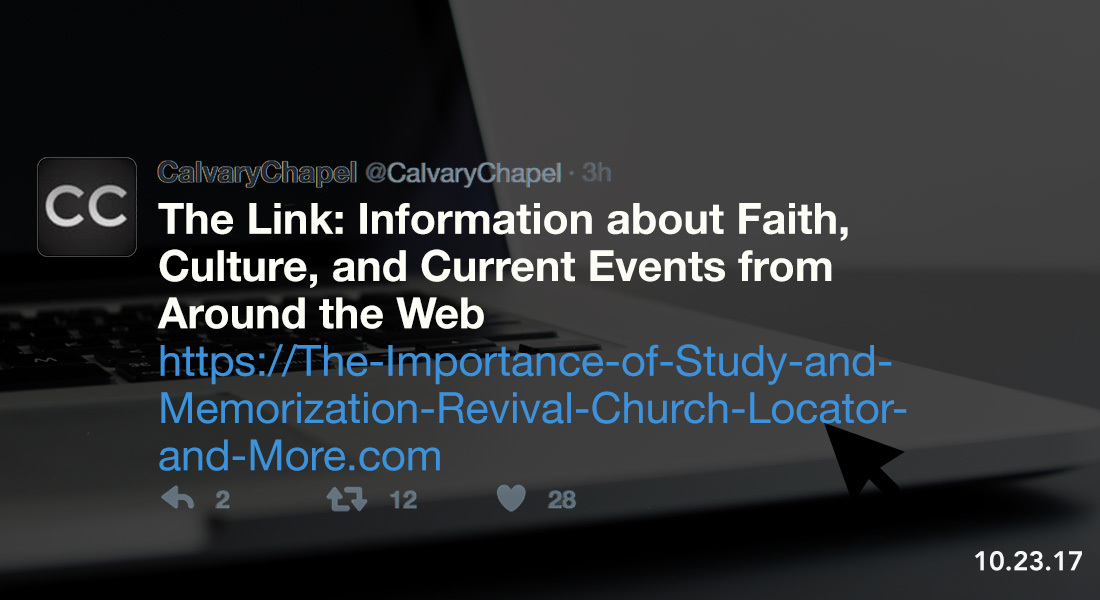 The Link: The Importance of Study & Memorization, Revival, Church Locator and More