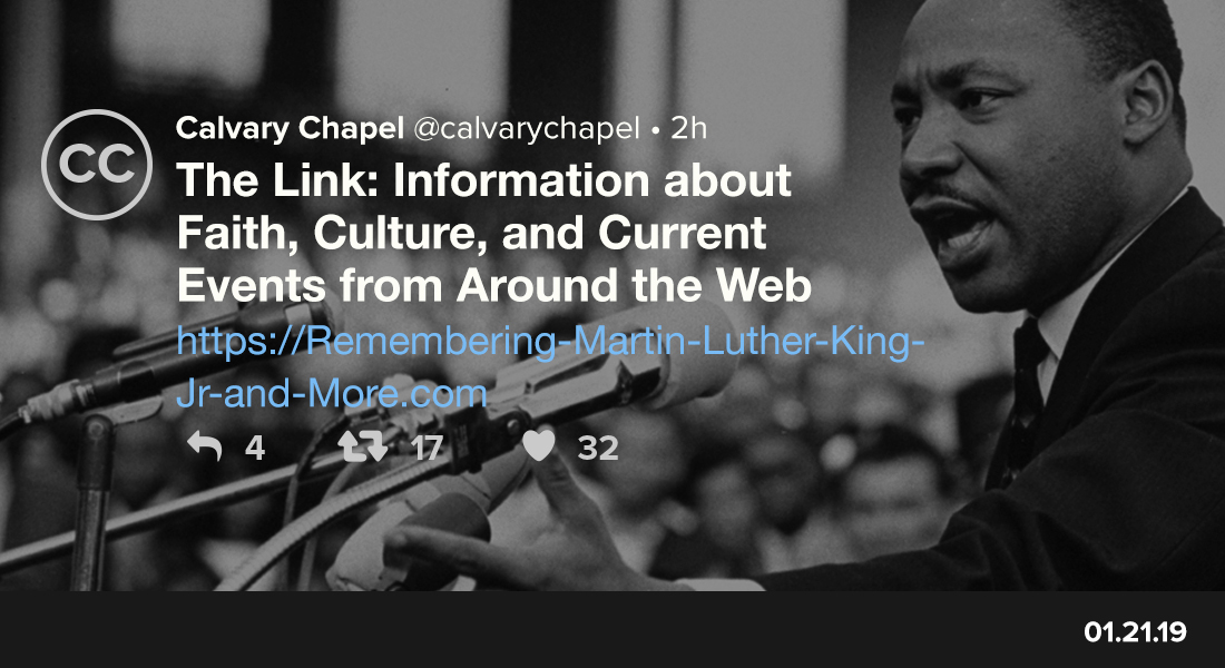 The Link: Remembering Martin Luther King Jr. and More