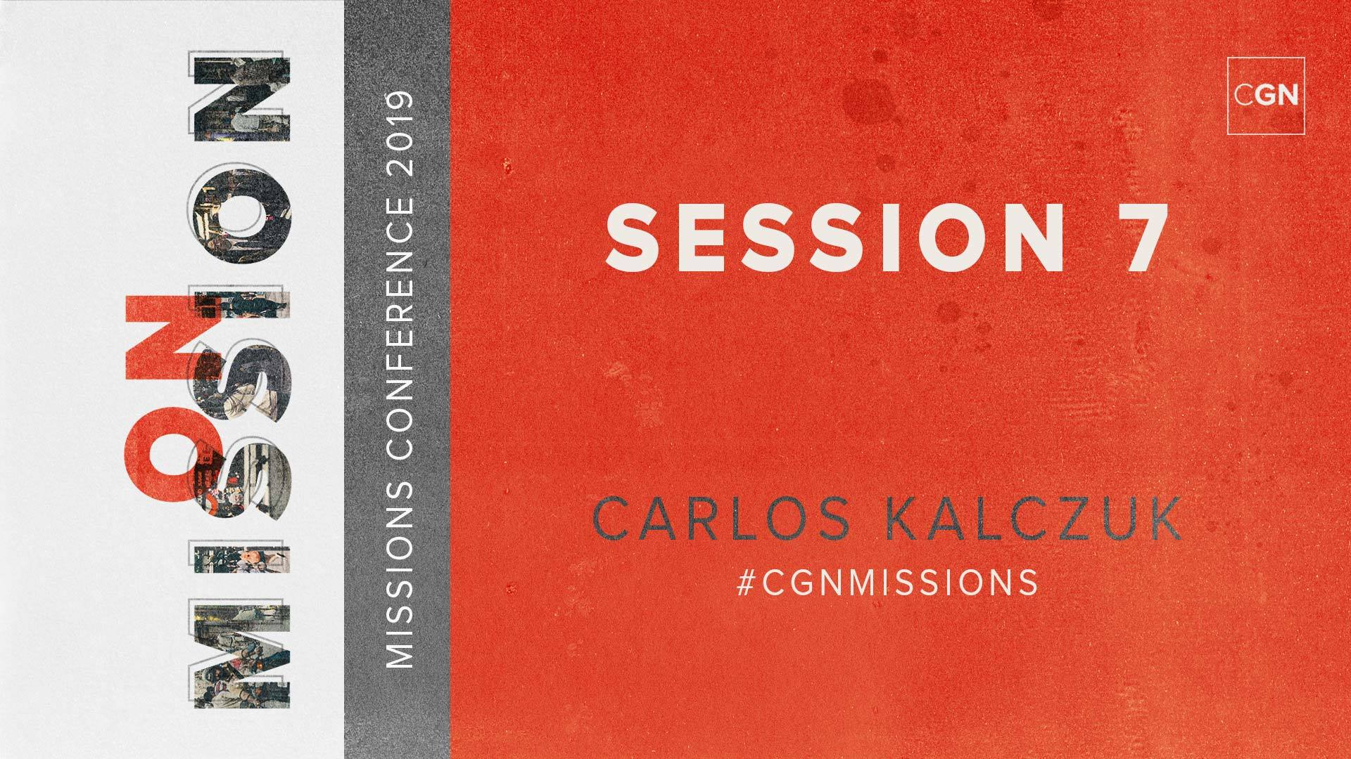 Session #7 - Carlos Kalczuk