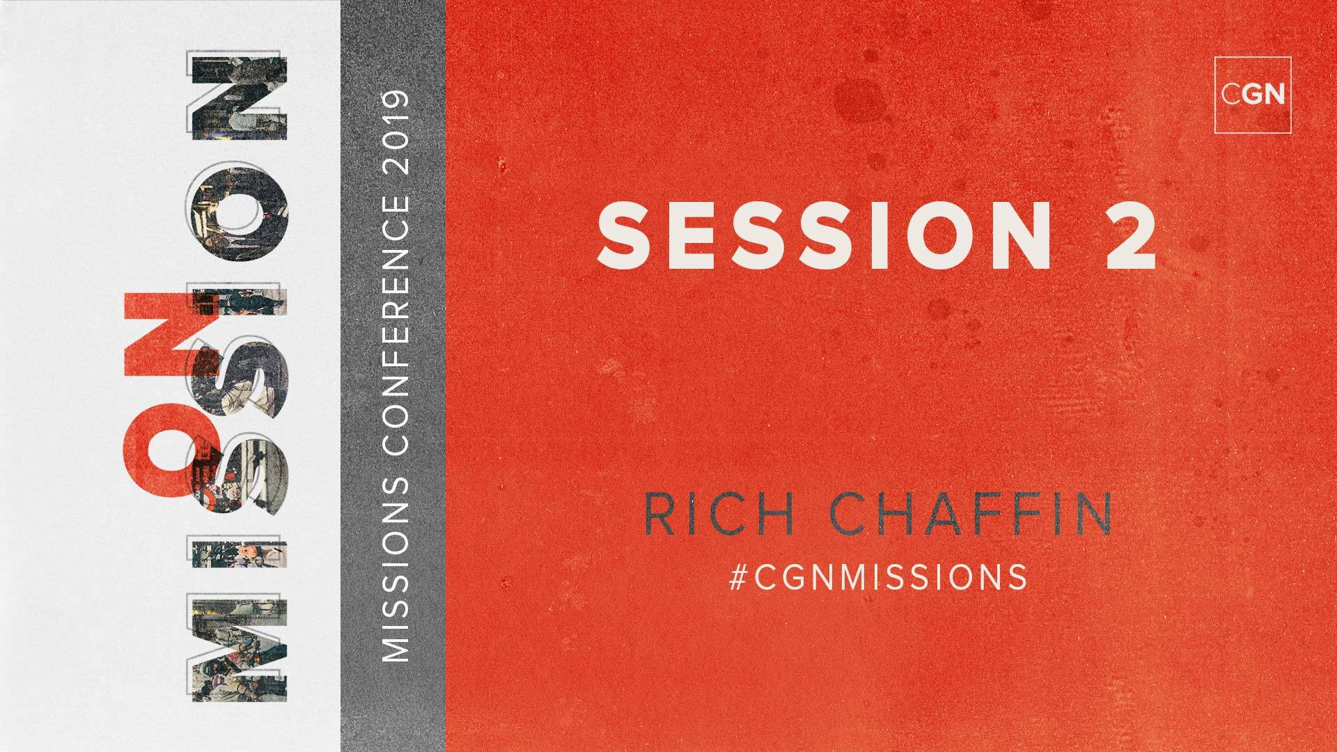 Session #2 - Rich Chaffin