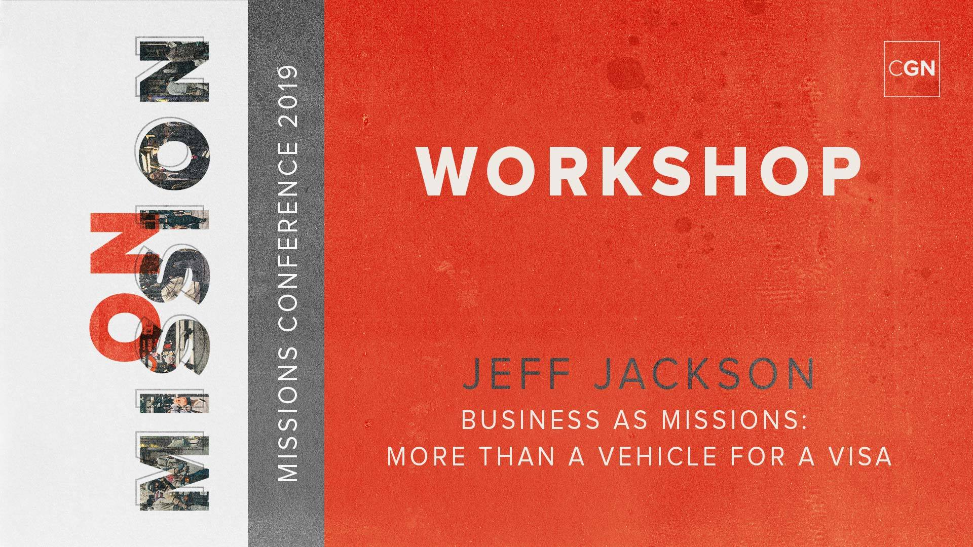 Workshop - Business as Missions