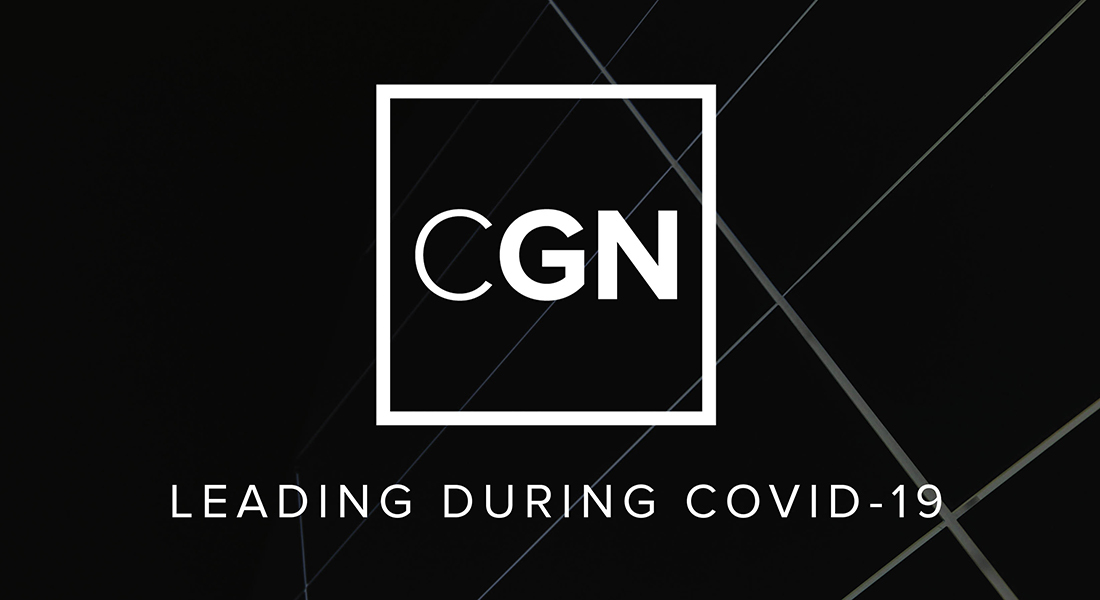 New Episodes: CGN- Leading in COVID-19 Podcast