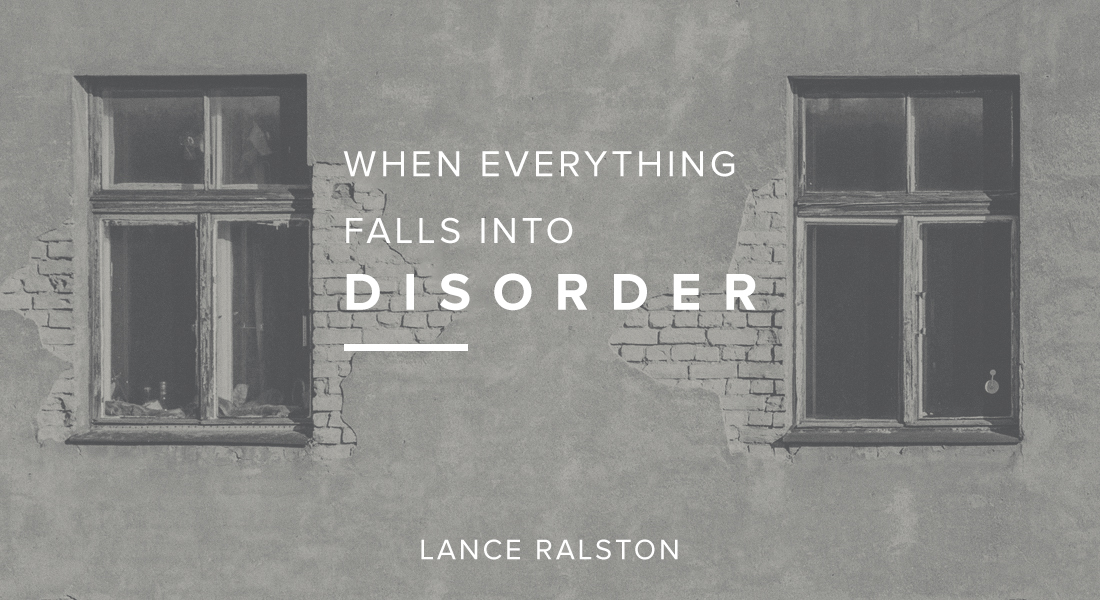 When Everything Falls Into Disorder