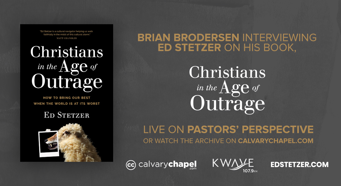 An Interview with Ed Stetzer Live on Pastors' Perspective & Archived on CalvaryChapel.com