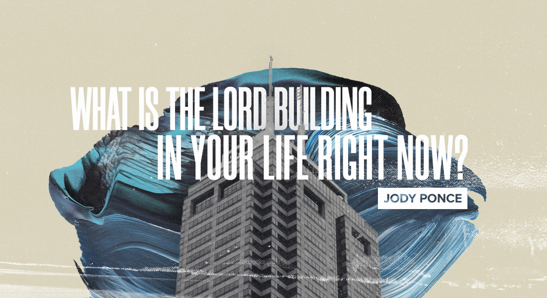 What is the Lord Building in Your Life Right Now?