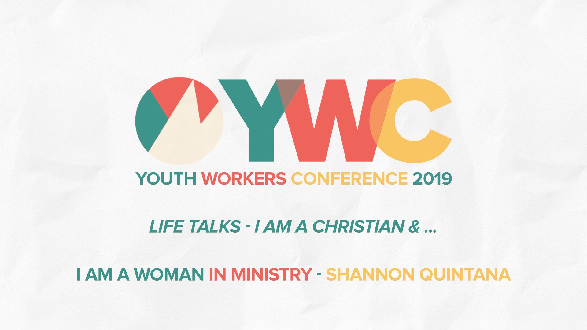 Shannon Quintana: Life Talk -  I am a Christian & I am a woman in ministry.