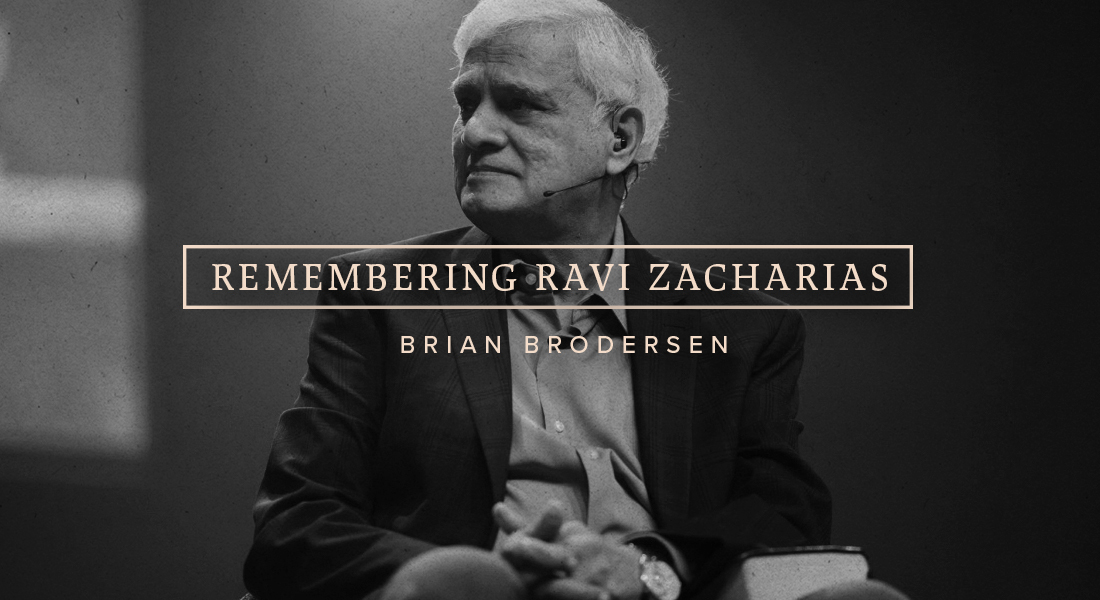 Remembering Ravi Zacharias
