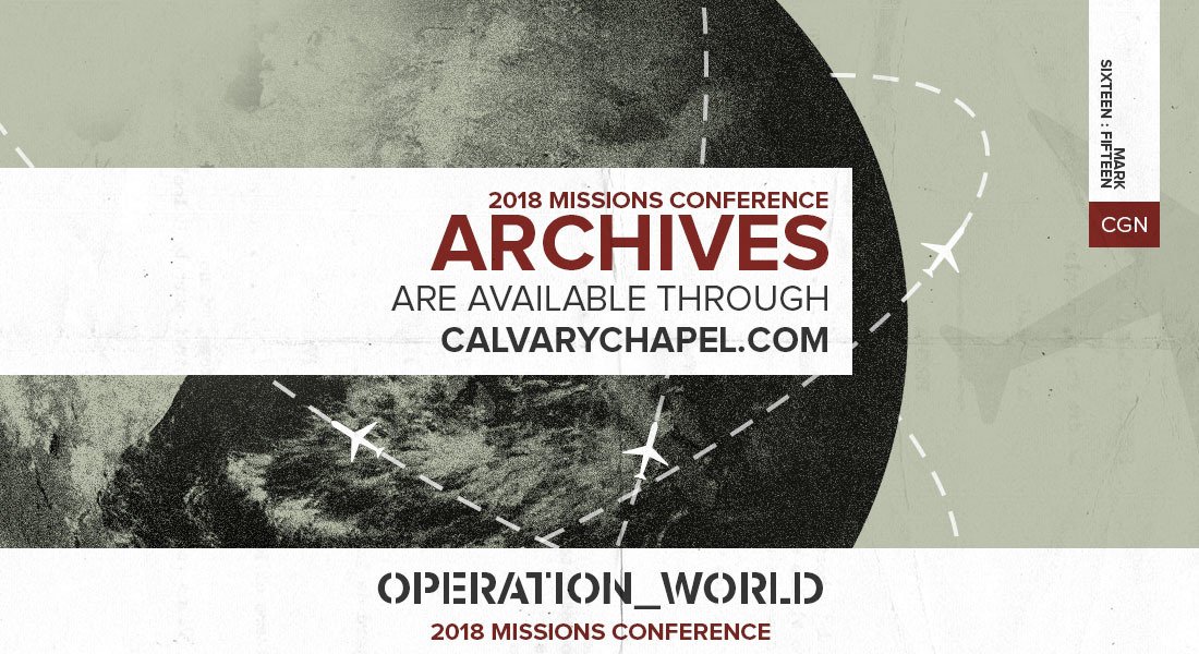 2018 Missions Conference Archives Available