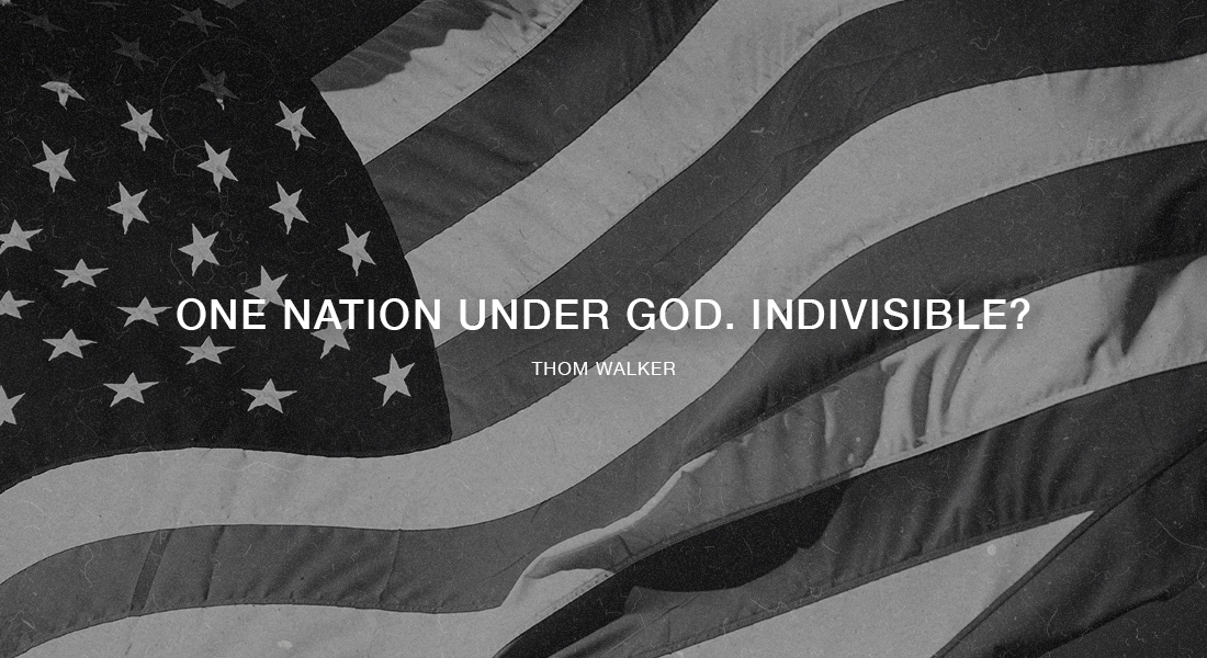 One Nation Under God. Indivisible?