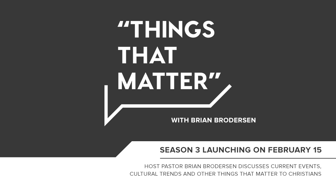 "Season Three Launch of ""Things That Matter"""