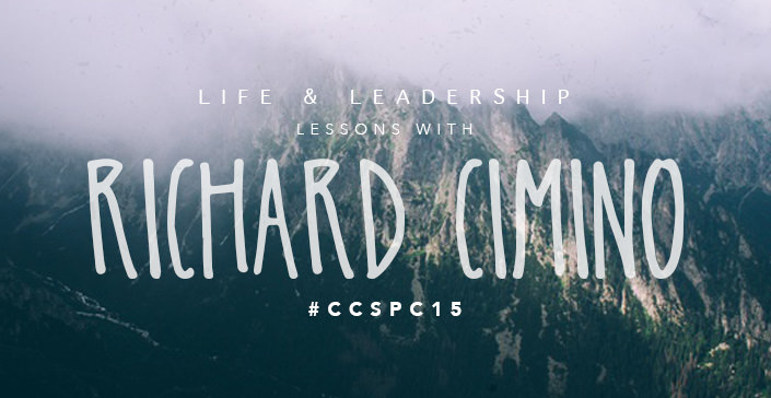 Life & Leadership Lessons with Richard Cimino