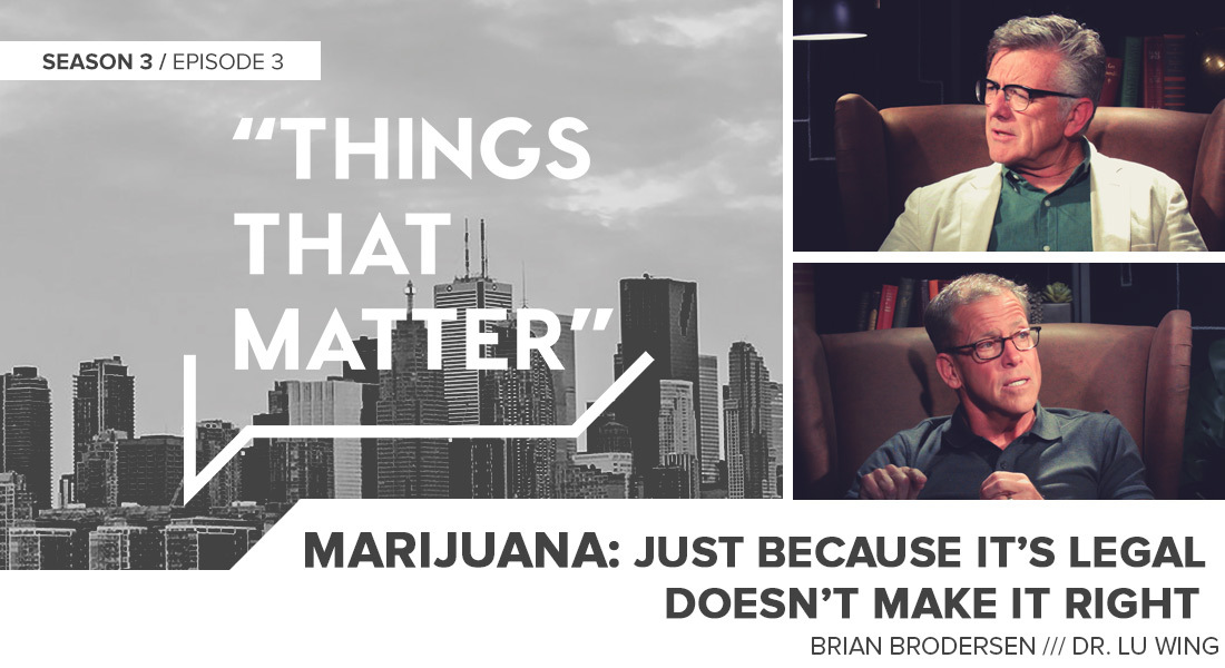 TTM S3E03: Marijuana: Just because it's legal doesn't make it right