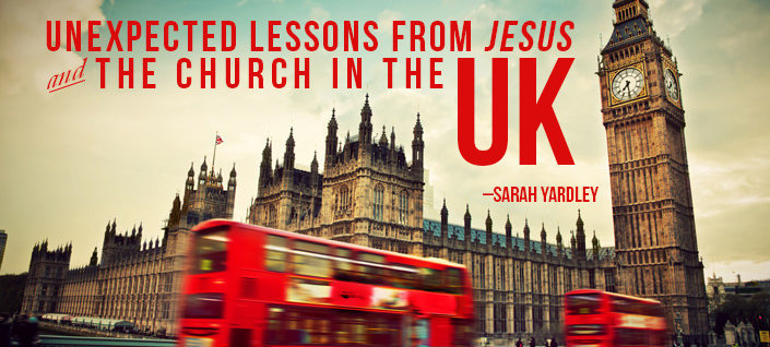 Unexpected Lessons from Jesus & the Church in the UK