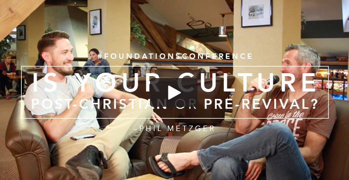 Is Your Culture Post-Christian or Pre-Revival?