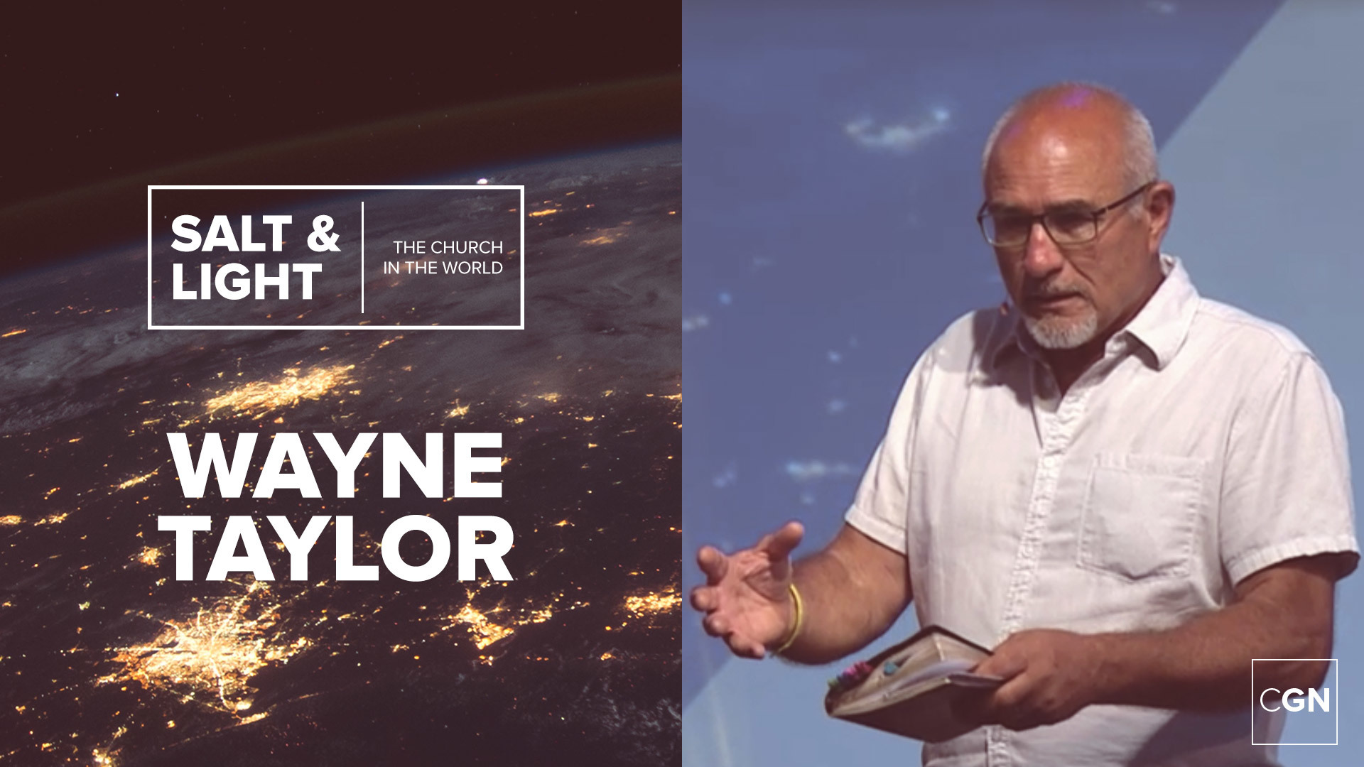 Session 13: Being the Salt of the Earth - Wayne Taylor