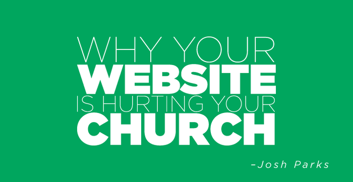 Why your website is hurting your church