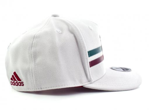 ADIDAS CF5159 WHITE/COLLEGIATE BURGUNDY/COLLEGIATE GREEN FMF AWAY FL CAP  UNICA
