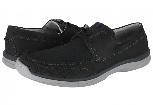 CLARKS 5153 BLACK SYNTHETIC MARUS EDGE  25-31