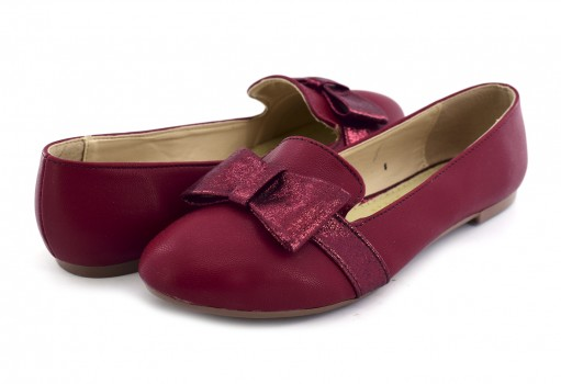 COCO SHOES 814 CABRA MARSELLA VINO  22-26