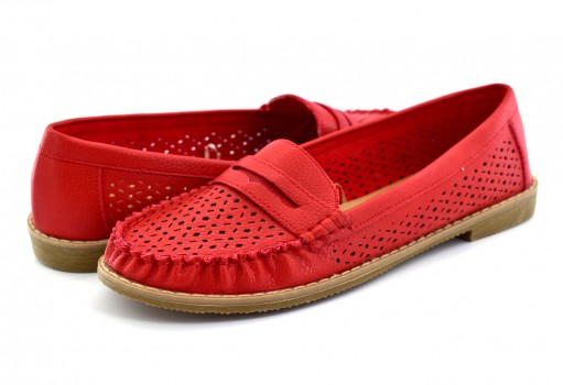 COMFORT FIT 13163 RED  23 - 27