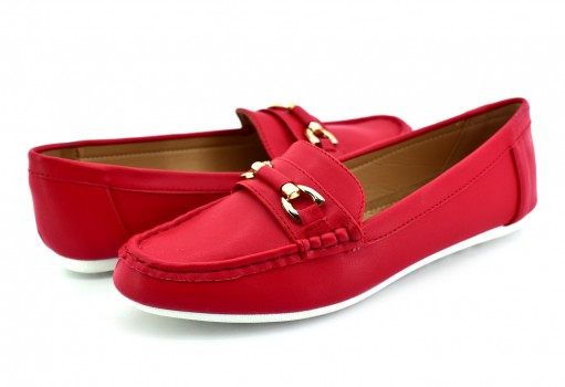 COMFORT FIT 13217 RED BLANCA  23 - 27
