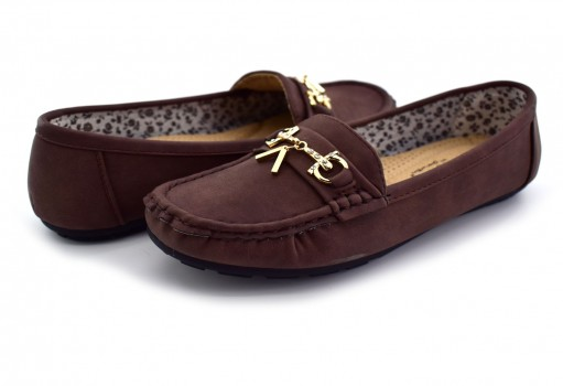 COMFORT FIT 14099 DARK BROWN  23 - 27