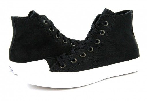 CONVERSE 150143 BLACK/WHITE CT II HI  23.0 AL 31.0