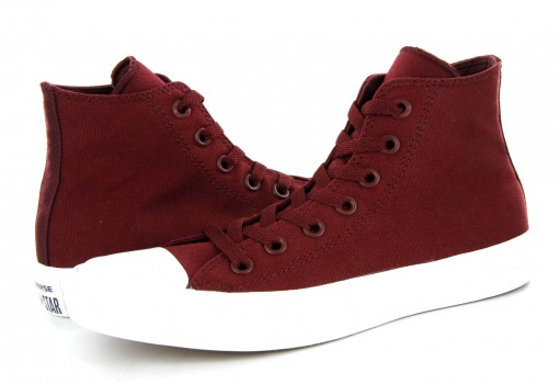 CONVERSE 150144 BORDEAUX CHUCK TAYLOR ALL STAR II HI  23.0 AL 31.0