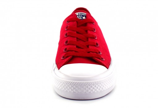 CONVERSE 150151 SALSA RED/WHITE CHUCK TAYLOR ALL STAR II OX  23.0 AL 31.0