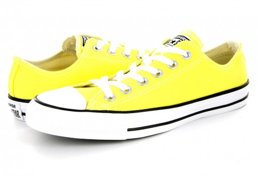 CONVERSE 155735 FRESH YELLOW CT ALL STAR SEASONAL LOW  22-27