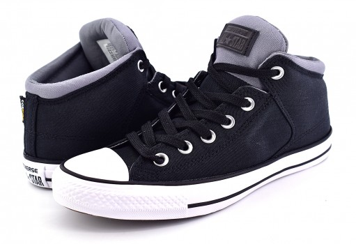 CONVERSE 157451 BLACK/COOL GREY CTAS HIGH STREET HI 25