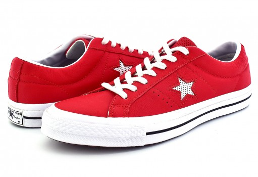 CONVERSE 158466 CASINO/WHITE/WHITE ONE STAR OX  25-30
