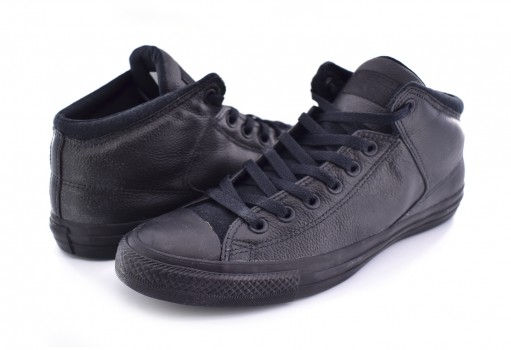 CONVERSE 161473 BLACK/BLACK/BLACK CHUCK TAYLOR ALL STAR HIGH STREET 23.0 AL 31.0          (230;235;240;245;250;255;260;265;270;275;280;285;290;295;300)