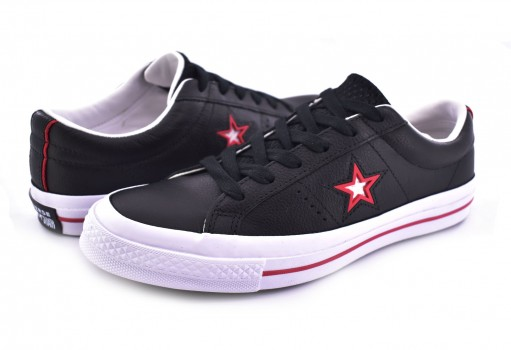 CONVERSE 161563 BLACK/RED/WHITE ONE STAR OX  25-30