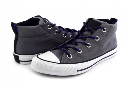 CONVERSE 162382 MASON/BLACK/WHITE CHUCK TAYLOR ALL STAR STREET MID  25-30
