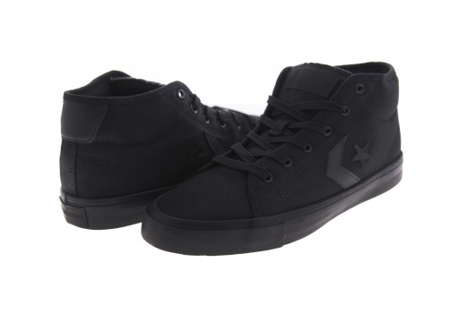 CONVERSE 163264 BLACK/BLACK/BLACK STAR REPLAY STAR OF THE SHOW MID  25-30