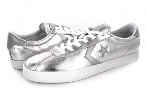 CONVERSE 555949 PURE SILVER/WHITE/WHITE BREAKPOINT OX  22-27