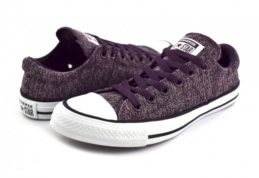 CONVERSE 561764 VIOLET DUST/DUSK PURPLE/WHITE CHUCK TAYLOR ALL STAR MADISON OX  22-27