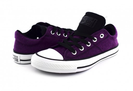 CONVERSE 562455 ICON VIOLET/BLACK/WHITE CHUCK TAYLOR ALL STAR OX  23.0 AL 26.5