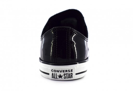 CONVERSE 662319 BLACK/BLACK/WHITE CHUCK TAYLOR ALL STAR OX  17-25
