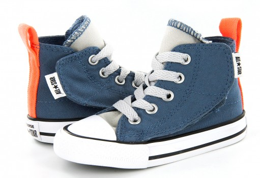 CONVERSE 756118 BLUE COAST/MOUSE/WHITE CHUCK TAYLOR ALL STAR SIMPLE STEP 11