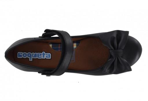 COQUETA 31108 -A NAPA NEGRO  21.5 - 24.0